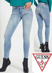 Guess 1981 Curve X Skinny High Waist 'Glitzy Heaven' Jeans (G40a) - Bargain!!.