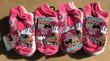 Lot of 24 Pairs NEW L.O.L Surprise No Show Socks Size S Shoe Size 6-10 1/2 Girls
