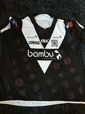 HULL FC RUGBY LEAGUE HOME SHIRT ISC BAMBU SCAFFOLDING SIZE 7XL