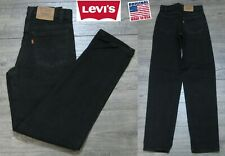 NEW VINTAGE 1990's LEVI'S 550 ORANGE TAB RELAXED FIT DENIM JEANS PANTS USA 26x32