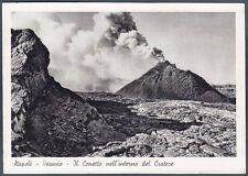 NAPOLI CITTÀ 114 VESUVIO - VULCANO Cartolina viaggiata 1941