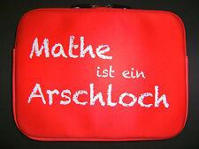 """Laptop Tasche 12"""" Mathe ist ein Notebook Netbook iPad eBook Taschen Hülle neu"""