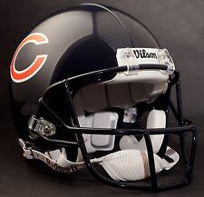 "CHICAGO BEARS Football Helmet Nameplate ""WILSON"" Decal/Sticker"