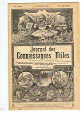 JOURNAL 1894 PHENOMENES DE SUGGESTION MANUFACTURES DE TABAC E.LE MOUEZ