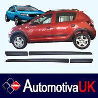 Dacia Sandero Stepway Mk2 Rubbing Strips | Door Protectors | Side Protection Kit