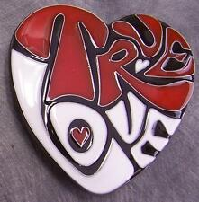 Pewter Belt Buckle novelty True Love Heart NEW