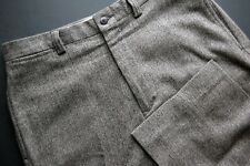 Polo Ralph Lauren Wool Pants Flat Front Classic Herringbone Tweed 30W x 29L