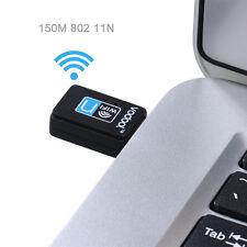 VODOOL 150Mbps 150M USB Wifi Wireless Lan Network Internet Adapter for Laptop PC