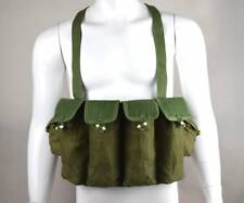 Vietnam War period Military Chinese Type 81 Ak47 Rifle Chest Rig Ammo Pouch