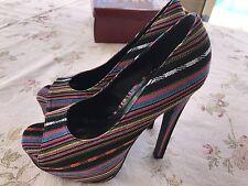 Ladies shoes 7 Platform Wedge Pump Heels