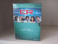 """Cofanetto DVD prime 4 stagioni di """"ER medici in prima linea"""""""