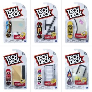 Tech Deck Fingerboard Street Hits Ramps Set ASSORTED - Free Post - Teck Deck