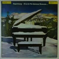 """12"""" LP - Supertramp - Even In The Quietest Moments... - A2442 - washed & cleaned"""