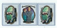 2020 UD GOODWIN CHAMPIONS JOE BURROW  3 CARD LOT