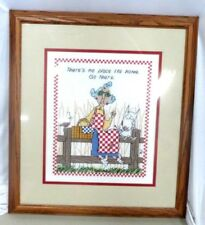 Hallmark Maxine Cross-Stitch Picture in a Picture Frame #53