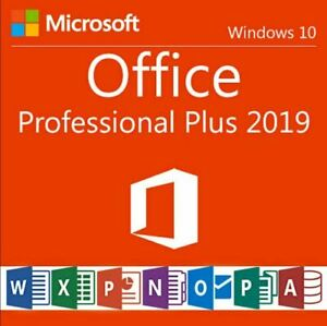 MICROSOFT®OFFICE 2019 PROFESSIONAL PLUS32/64BIT LICENSE KEY INSTANT DELIVERY