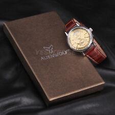 Vintage Herrenuhr Automatik Mechanische Automatikuhr Armbanduhr Datumgezeigt