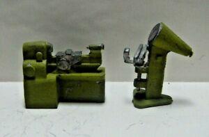 HO or S Machine Shop Lathe & Shadowgraph Painted Metal