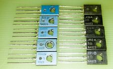 Motorola (On-Semi) 2N4923 Transistor, NPN, 1A, 80 Volt, TO-126, lot of 10 pieces