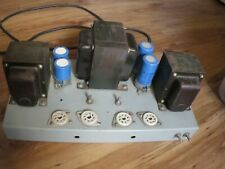 Stereo Tube Power Amp Project with 60 Watt Output Xformers Kt-88, 90, 120,150