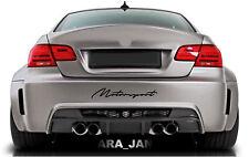 MOTORSPORT Decal Sticker sport racing car bumper logo emblem auto performance