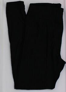 TC LuLaRoe Tall & Curvy Leggings Versatile Solid Black NWT