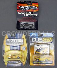 Hot Wheels Ultra Hot Dub City Kustom Big Time Muscle 67 Mustang Shelby GTR GT350