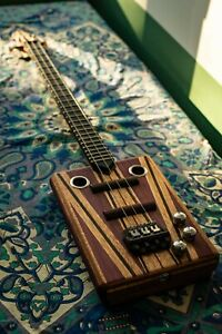 Cigar Box Guitar with Two Pickups, Unique, High Quality Handcrafted Instrument