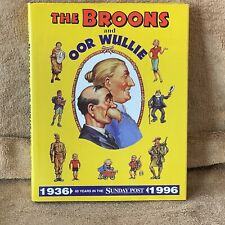 The Broons and Oor Wullie  1936 - 1996: 60 Years in the Sunday ... Hardback Book