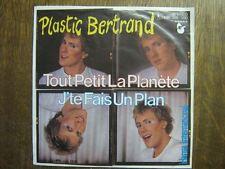 PLASTIC BERTRAND 45 TOURS GERMANY TOUT PETIT LA PLANETE