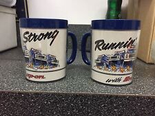 2-Vintage Snap-On Advertising  Mug Thermo Serv Cups