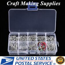 Jewellery Making Tools Kit Head Pins Chain Findings Handmade DIY Accessory Craft