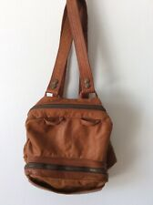 Vintage Leather Backpack Soft Supple Handmade By GREENLIEF Hippie Festival