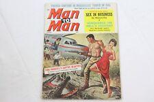Man to Man August 1960 Adventure MagazineNazi Horror Tortures Bondage Story