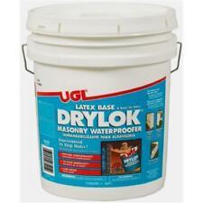 United Gilsonite 27515 5 Gallon White Latex Base Drylok Masonry Waterproofer