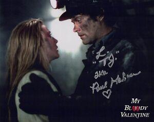 My Bloody Valentine horror movie 8x10 photo signed by Paul Kelman