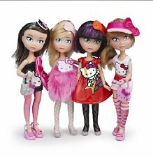 FAMOSA CLUB HELLO KITTY DOLLS WITH ACCESSORIES ISABELLA KELLY TELMA YANINA