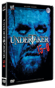 WWE: Undertaker 15-0 DVD (2008) The Undertaker cert 15 FREE Shipping, Save £s