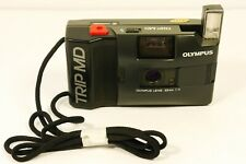 OLYMPUS  TRIP MD 35mm Film Camera 1:4 Lens Fully Power Tested Working