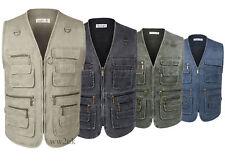 Eidlvais Men Clothing Vest  For Fishing Photography Safari Outdoors Sports Vest