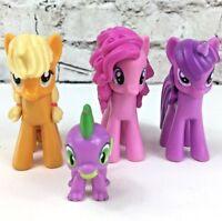 MLP My Little Pony figure lot of 4 Apple Jack Twilight Sparkle Pinkie Pie Spike