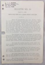 New listing 1939 Antique John Deere Bulletin / Improved New No 6 Jd Sheller