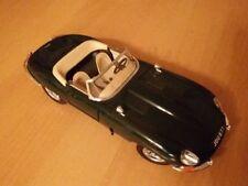 1:18 Burago - Jaguar E Cabriolet, grün - RARITÄT - OVP