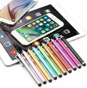 20 PCS Aluminium Touch Screen Stylus Pen for iPhone iPad Tablet Samsung Android