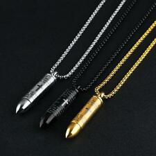 Cross Stainless Steel Necklace Jewelry Gift For Men Cool Design Pendant