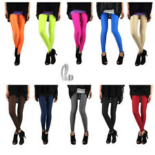 AU SELLER Sexy Low Waist Neon Shiny Dance Disco Stretch Pants Leggings p064