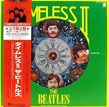 AWESOME! RAREJAPAN LIMITED EDITION PICTURE DISC w/ OBI! THE BEATLES TIMELESS II