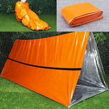 1Pcs Outdoor First-Aid Survival Emergency Tent Blanket Sleep Bag Camping Shelter