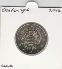 Oostenrijk 2 euro 2012 UNC : 10 Jaar Euro Munt