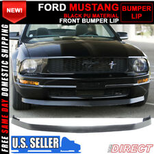 05-09 Ford Mustang Bumper Chin Spoiler Lip For V6 - PU